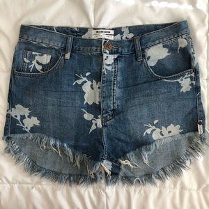 One X One Teaspoon Outlaws 30 Shorts